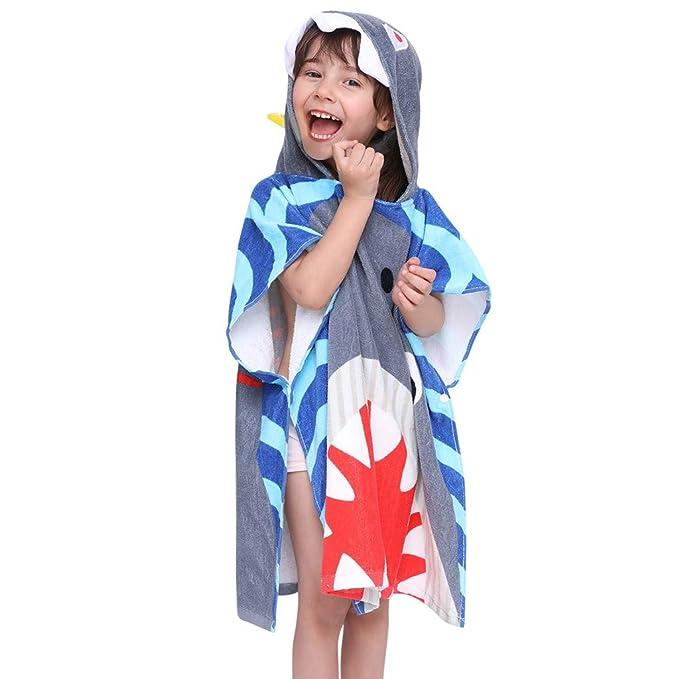 Amazon.com: Rain - Albornoz de franela con capucha para bebé ...
