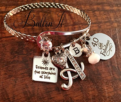 Best friend gift, FRIENDSHIP bracelet, Friend birthday gift...