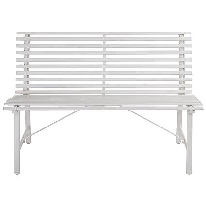 Peachy Amazon Com Ak Energy Heavy Duty Steel Outdoor White Gray Beatyapartments Chair Design Images Beatyapartmentscom