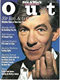 img - for Out Magazine, September 1993, Ian McKellen Cover book / textbook / text book