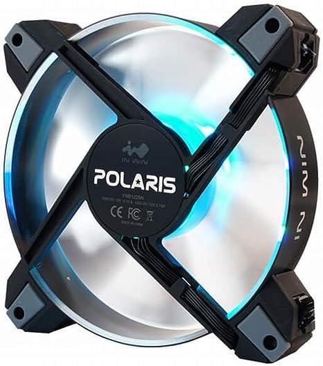 In Win Polaris RGB Metal (Single Pack) Ventilador para PC: Amazon ...