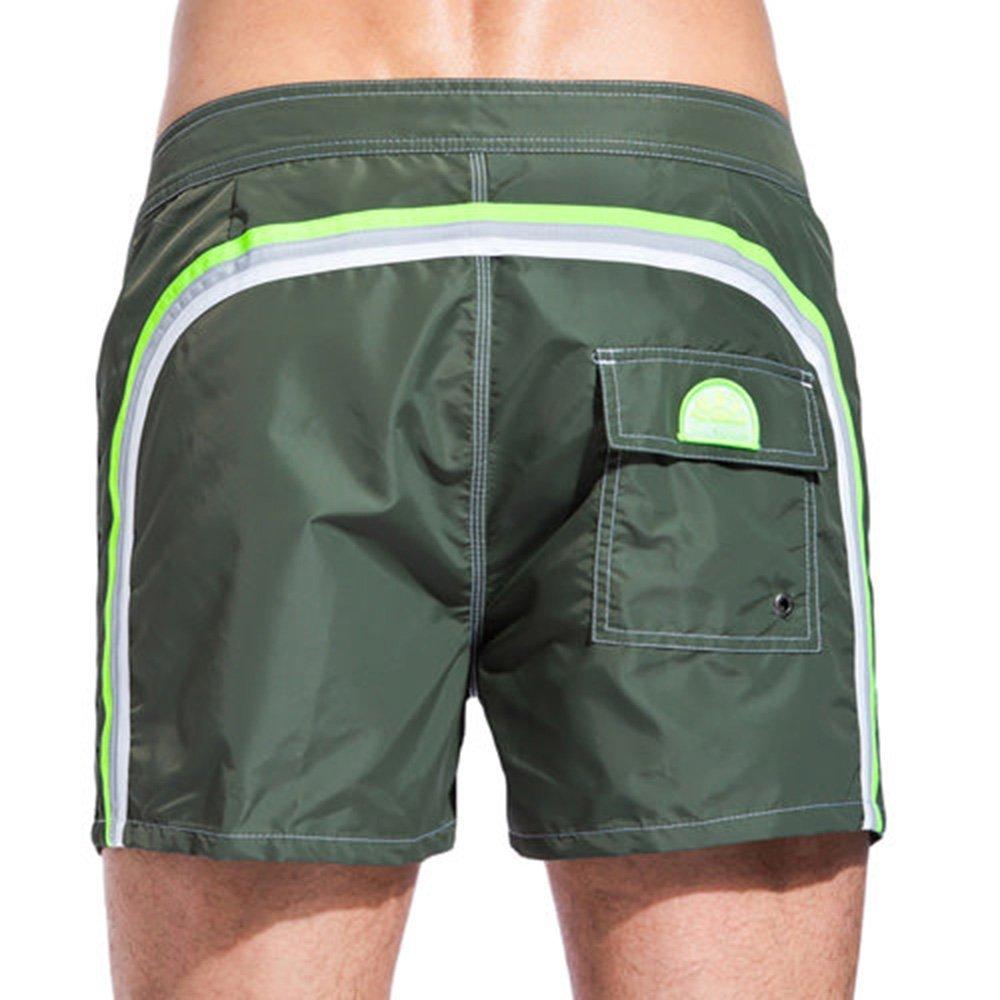 SUNDEK Niedrig Rise Shorts, Herren, Herren, M502BDTA100 - Niedrig Rise 14, grün, 36