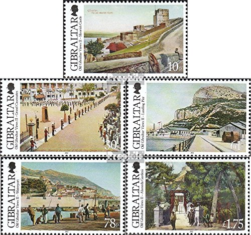 Gibraltar 1499-1503 (Complete.Issue.) 2012 Earlier Views Gibraltar (Stamps for Collectors)