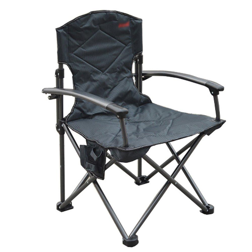 Camping-Stühle WSSF- Leichter Aluminiumlegierungs Wasserdichter im Freien faltender Aufenthaltsraum-Stuhl-Garten-Strand-Fischen-Stuhl - tragendes 150kg