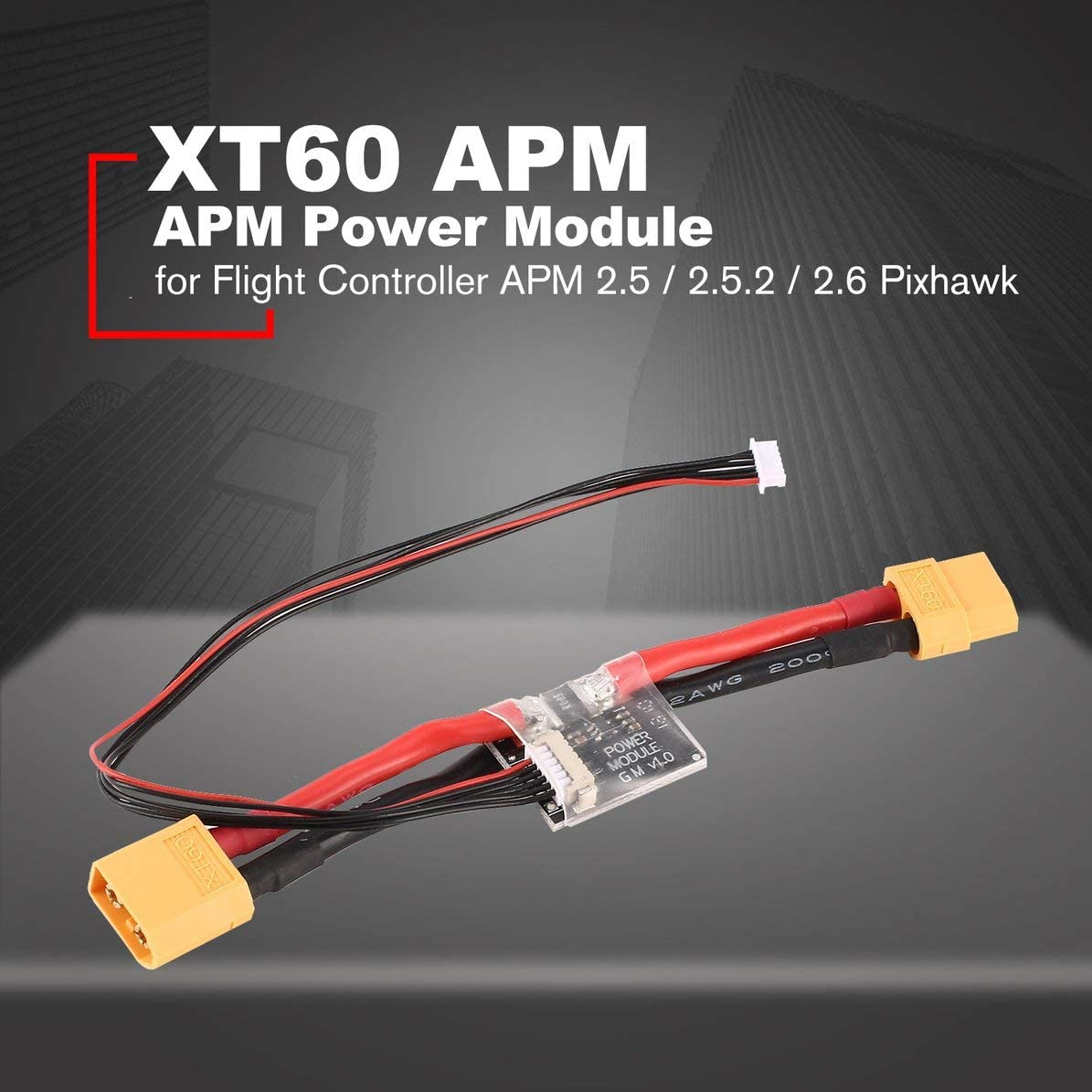 Connectors XT60 APM Power Module Board with DC 5.3V BEC for Flight Controller APM 2.5//2.5.2//2.6 Pixhawk Accessories