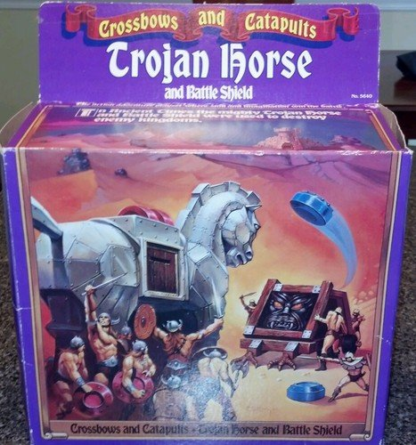 Crossbows and Catapults Trojan Horse and Battle Shield