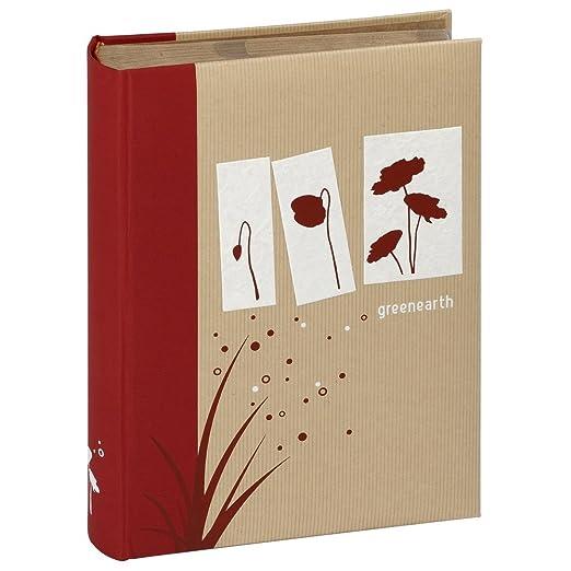 188625da5c Panodia 270688 Greenearth - Album portafoto, 120 Foto da 10 x 15 cm, 40  Pagine, 26 x 30 cm: Amazon.it: Casa e cucina