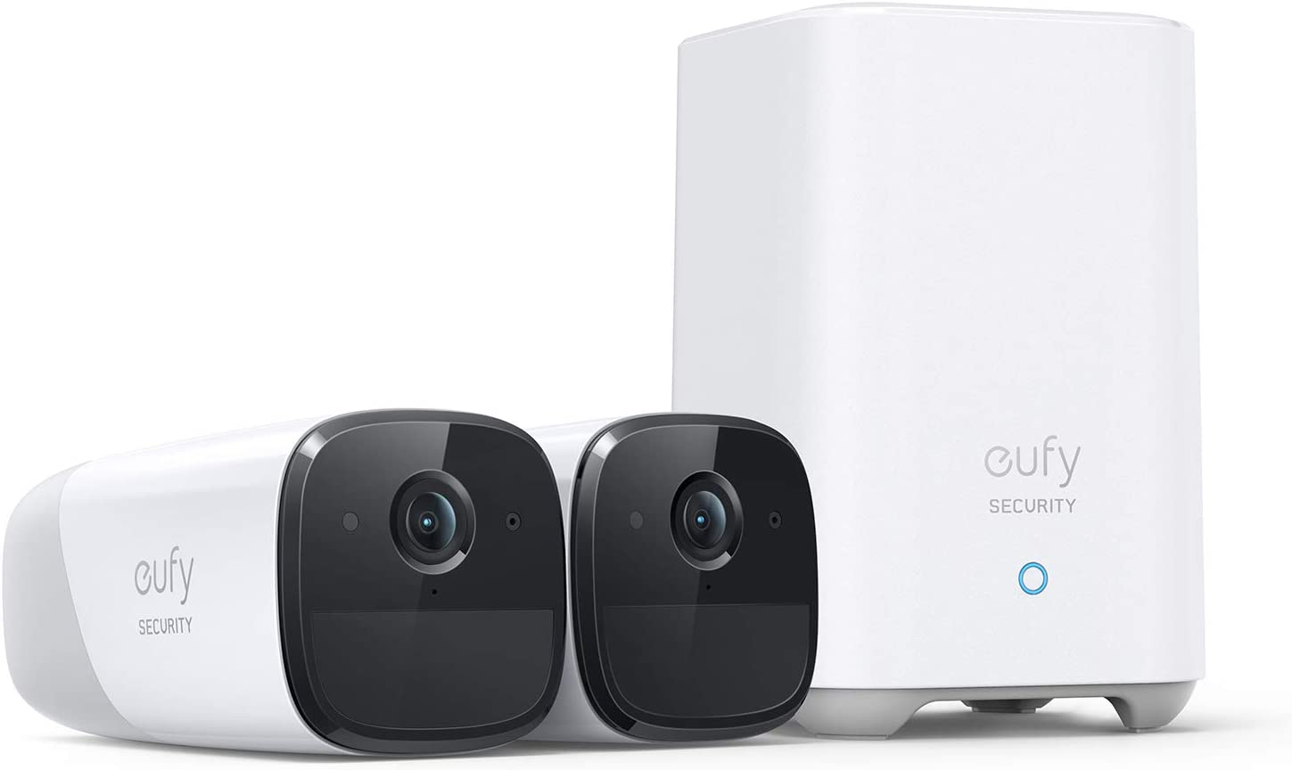 eufy Security, eufyCam 2 Pro Wireless Home Security Camera System, 365-Day Battery Life, HomeKit Compatibility, 2K Resolution, IP67 Weatherproof, Night Vision, 2-Cam Kit, No Monthly Fee