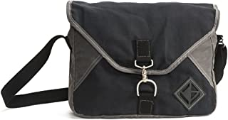 product image for Diamond Brand Gear Messenger Bag - Black- Made in The USA