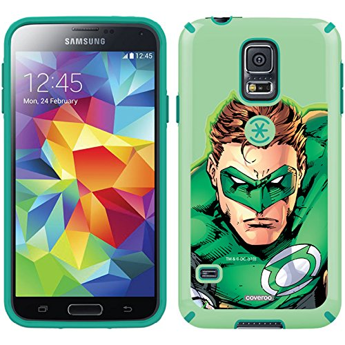 Coveroo CandyShell Cell Phone Case for Samsung Galaxy S5 - Green Lantern Close-Up (Lantern Green S5 Case Galaxy)