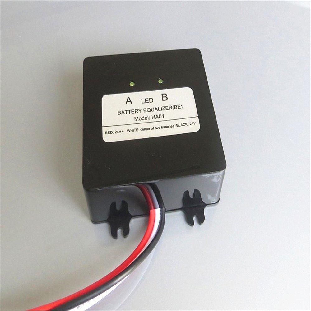 Batteria Equalizer 2//× 12/V per batterie piombo-acido Balancer caricabatterie per gel inondazione AGM batteria piombo