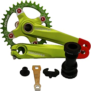 ixf 34T 36T MTB All-in-One – Bielas Chainwheel 104 BCD 170 mm con ...