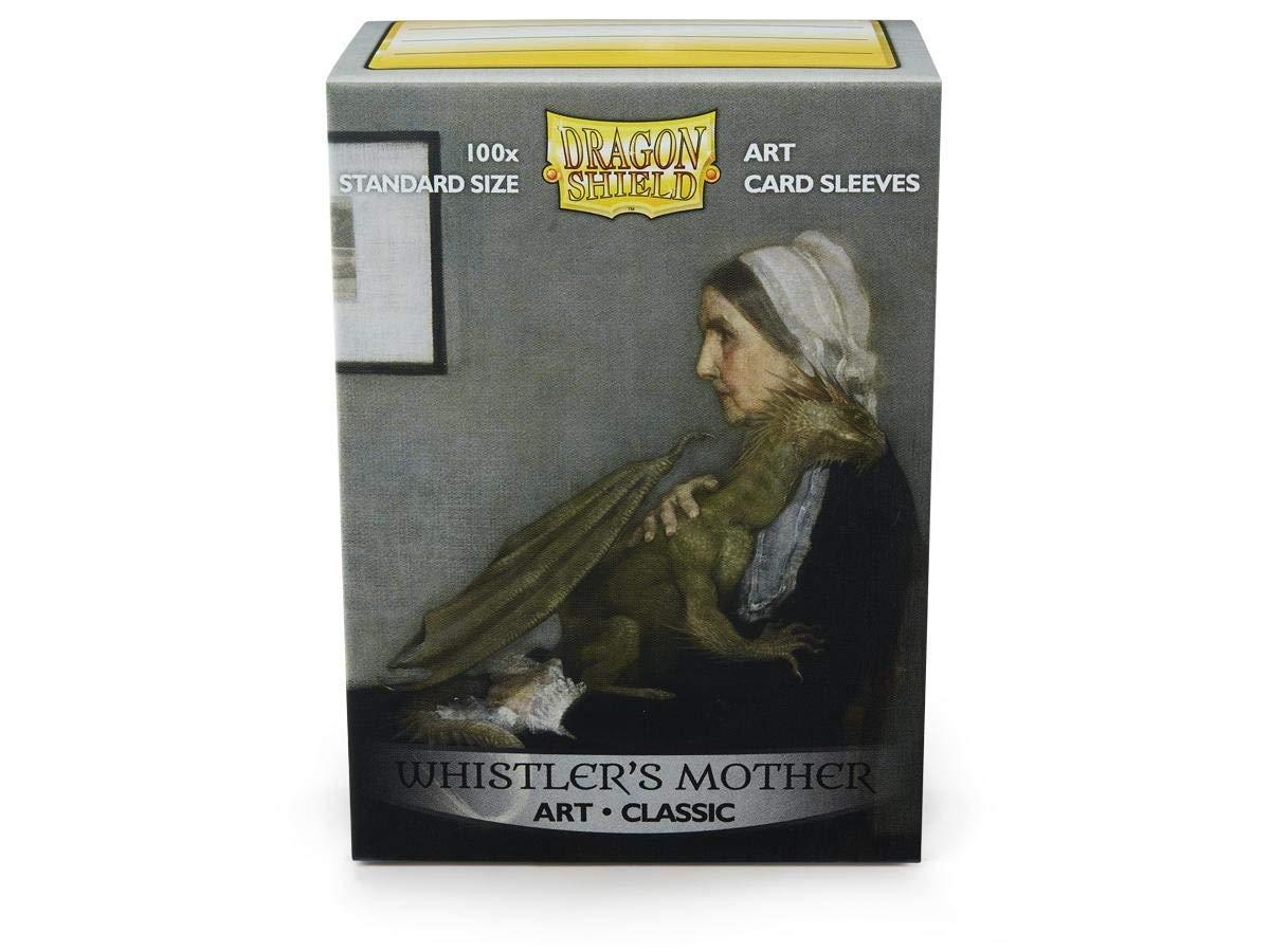 Arcane Tinmen ApS ART12017 Dragon Shield: Art Sleeves Classic-Whistlers Mother limitiert, Mehrfarbig Pegasus Spiele