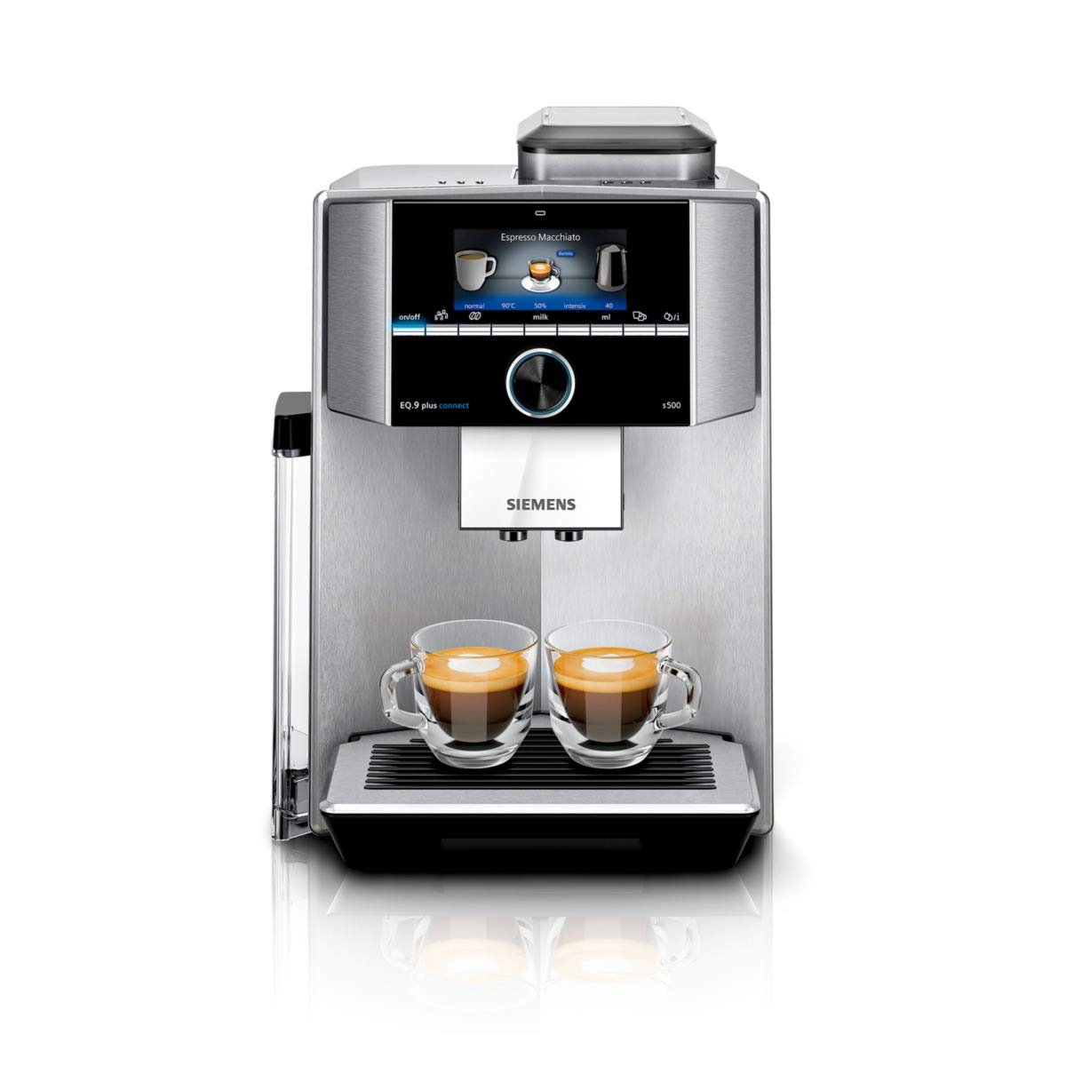 Siemens EQ.9 plus connect s500 Independiente - Cafetera ...