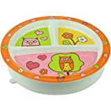 Sugarbooger Divided Suction Plate, Hoot