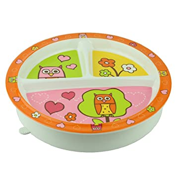 sugarbooger divided suction plate hoot baby