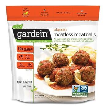 Gardein Classic Plant-Based Meatless Meatballs, Vegan, Frozen, 12.7 oz.