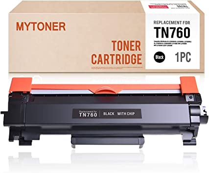 1 x Toner Chip TN760 for Brother MFC-L2710DW MFC-L2750DW HL-L2370DW DCP-L2550DW