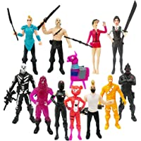 Ginkgo Fortnite Action Figures Cartoon Toys Collezione Anime Decorazione Regalo per Bambini 12pz