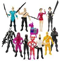 Ginkago 12 pcs Décoration Figurines Jouets Jeu Personnages Poupées Cadeau Décoration