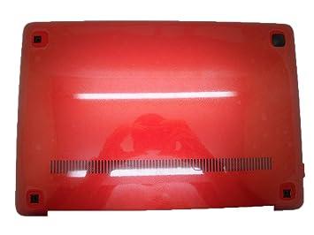 Carcasa inferior para ordenador portátil Lenovo U410 U410 Touch 90200804 3 alz8balv10 carcasa inferior rojo nuevo: Amazon.es: Informática