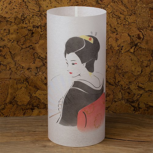 Geisha - Japanese Lamp Handmade - Japanese Geisha with Kimono