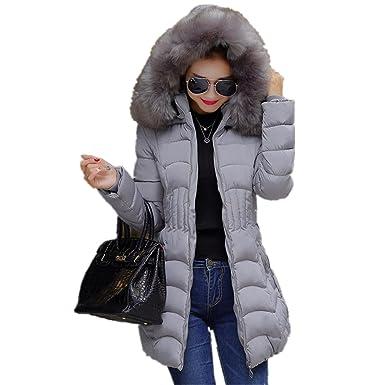 itAbbigliamento CoatAmazon Fashion accessori Cotton JacketLong Womens Wear e Warm Women Manadlian jacket Winter Slim hrsdCtQx