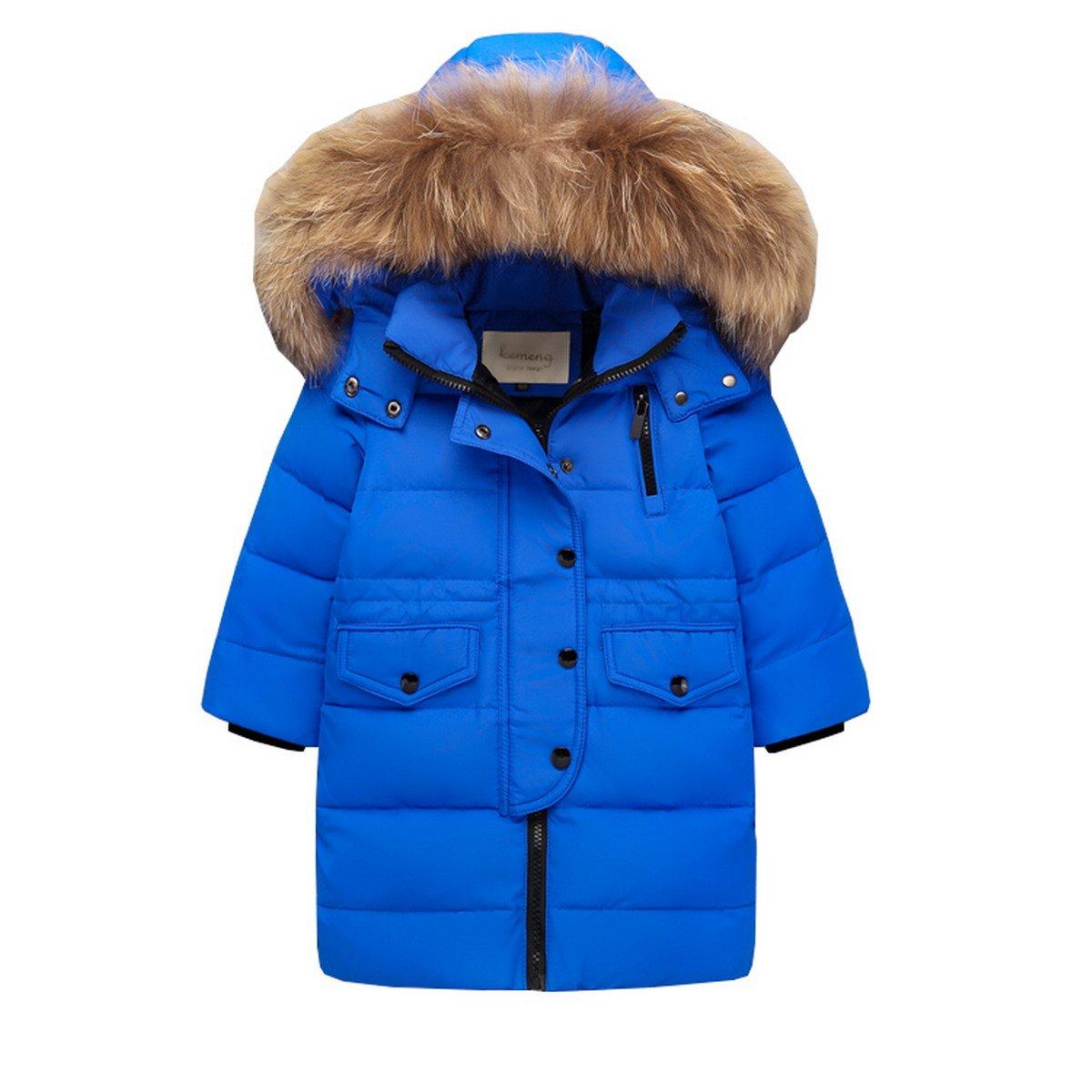6e53e68ddb119c AHATECH Bambino Giacca Bambina Antivento Spessore Piumino Lungo Cappuccio  Cappotto Ragazzi Snowsuit per Bambini Invernale Piumino nntkdq242-Altro