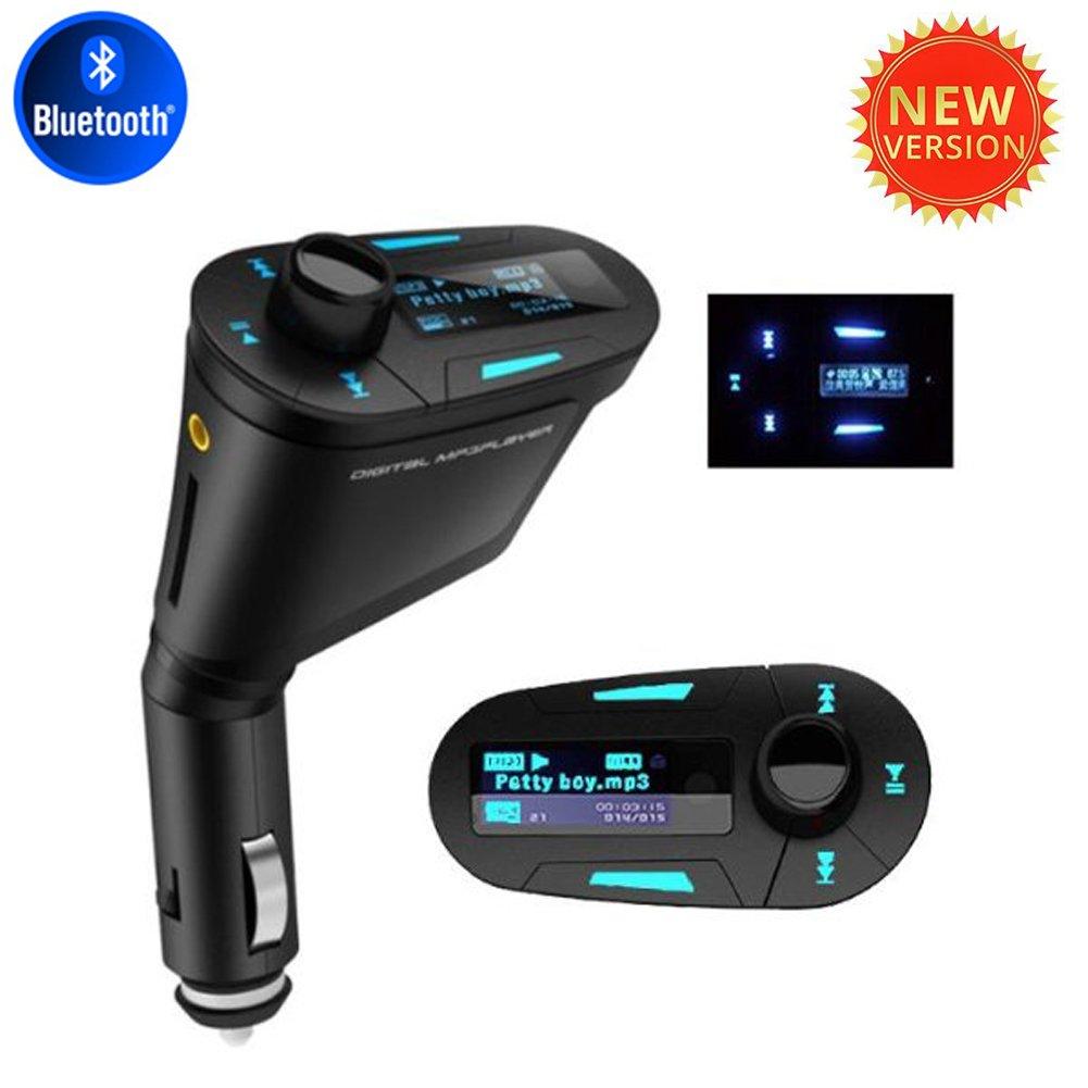 Bluetooth FM Transmitter Modulator USB Car MP3 Music Player High Quality 3.5mm Aux Cable LCD Display USB SD MMC Aux YunFa Trade Co. LTD. FBA-M032a