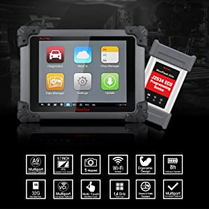 Autel Maxisys Pro MS908P is the best OBD2 scanner for professional technicians