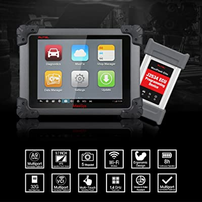 Autel Maxisys Pro MS908P is a smart diagnostic tool which is supports a variety of Powerful Hardware Condition