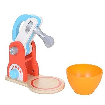LCP Kids Mixer 2 teiliges Kinder Spielzeug Set aus Holz mit ...