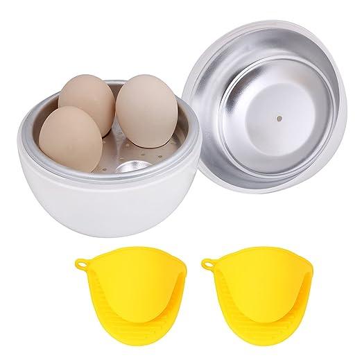 flintronic Microondas Huevo Caldera cocinero rápido Huevo ...