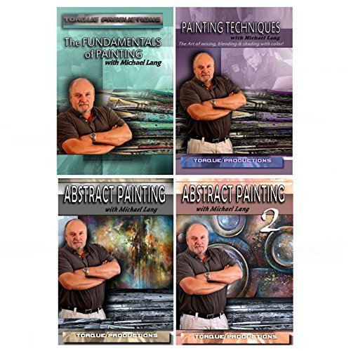 - Painting Art Instruction, 4 DVD set by Mix Lang
