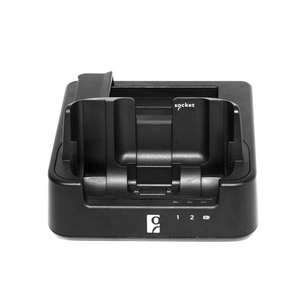 Socket Mobile HC1700-1394 SoMo 655 Sync-Charge Cradle Black with USB Sync Cable and 3A AC Adapter