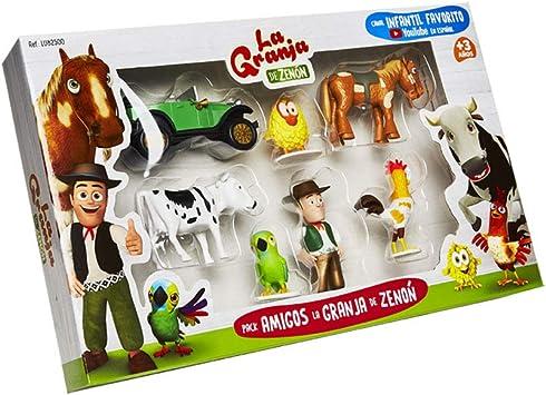 La Granja de Zenón - Pack de figuras Amigos de La Granja de Zenón: Amazon.es: Juguetes y juegos