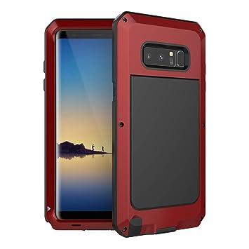 Beeasy Funda Samsung Galaxy Note 8,Antigolpes Rígida Robusta Antigravedad Carcasa Resistente al Impacto Militar Duradera Blindada Fuerte de Seguridad ...