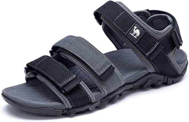Amazon.com | CAMEL Mens Sport Sandals Waterproof Hiking Sandal Open Toe  Casual Athletic Water Shoes for Outdoor Beach Summer with Straps | Sport  Sandals & Slides