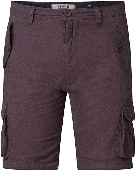 D555 Mens Khaki Cargo Shorts LARRY-2