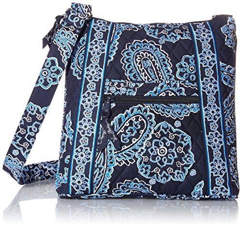 Vera Bradley Hipster Cross Body Bag, Blue Bandana, One Size