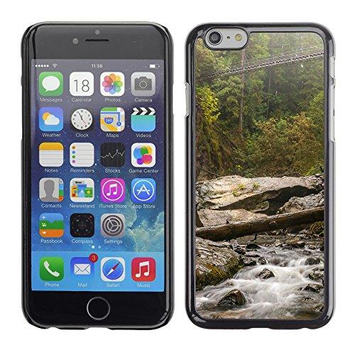 """Premio Sottile Slim Cassa Custodia Case Cover Shell // F00017228 Mountain river // Apple iPhone 6 6S 6G PLUS 5.5"""""""