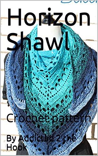Horizon Shawl: Crochet pattern ()