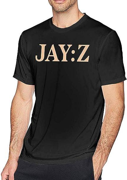 Jay-Z Camisas Casuales para Hombre Camisetas de Moda de Manga Corta: Amazon.es: Ropa y accesorios