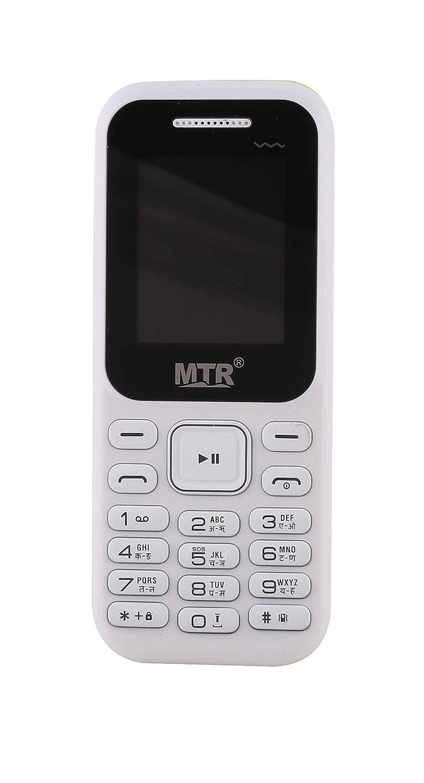 MTR MT-310 Mini Dual SIM VGA Camera Bright Torch Vibration (White)