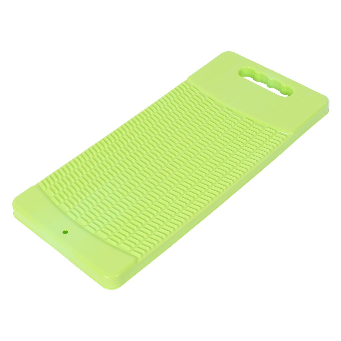 uxcellPlastic Rectangle Shaped Washing Clothes Washboard Yellow Green US-SA-AJD-171509