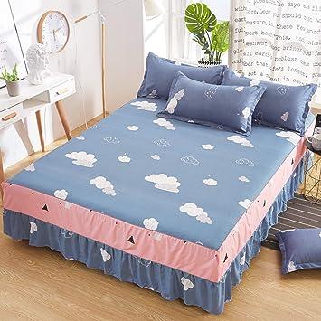 ACZZ Tres Tela reciclamiento de la falda de la cama elástica ...