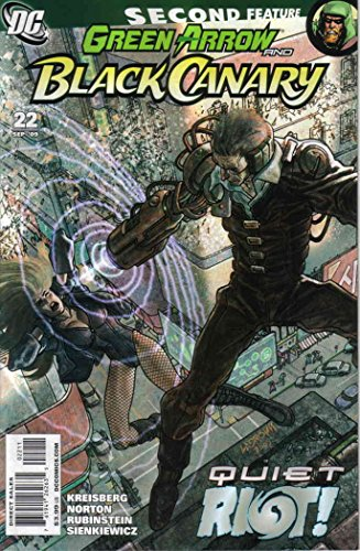 Green Arrow/Black Canary #22 VF/NM ; DC comic book