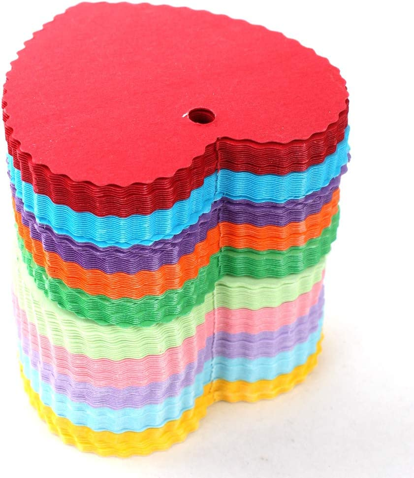 WARMBUY 150 Piece Colorful Paper Gift Feet Tags Natural 50 with Bombing new New York Mall work