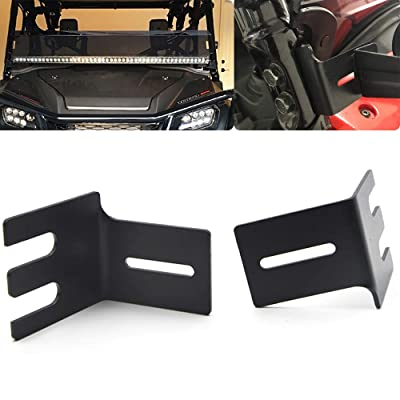 Front Side Pillar Upper Hood 50''-54'' LED Light Bar Mount Bracket For Honda Pioneer 700 1000 2014-2020: Automotive