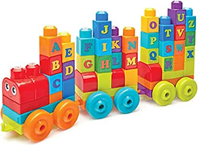 WXX Lego 50 Puzzle Pieces Inserted into Large Blocks of Building Blocks Game Music Alphabet Learning Train Set Children's Toys Birthday Gifts